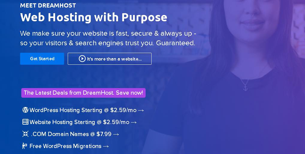 Dreamhost Website Hosting