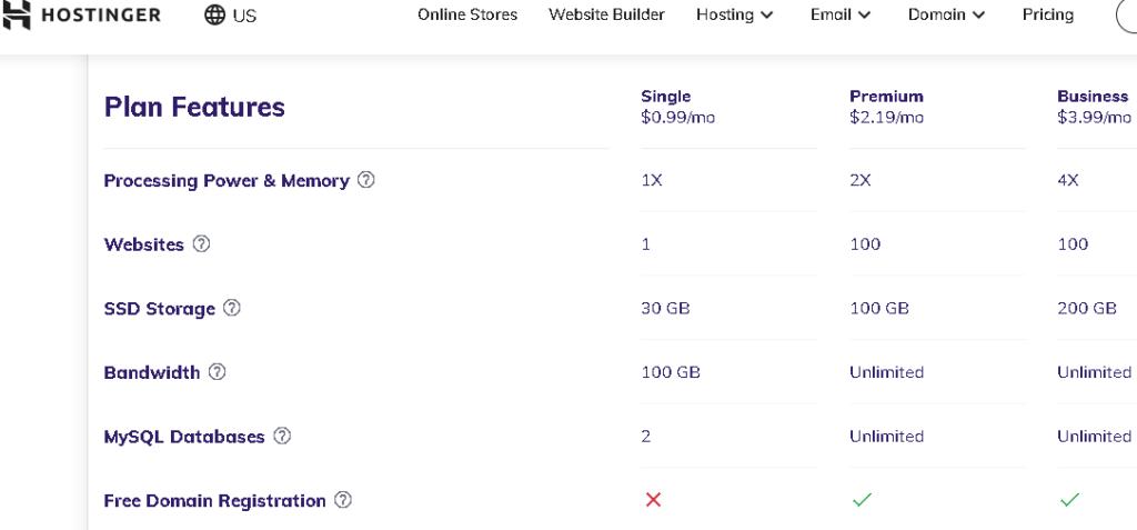 Hostinger Website Hosting